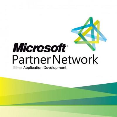 Microsoft partner - silver logo